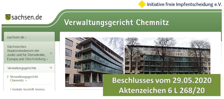 Beschluss Verwaltungsgericht Chemnitz