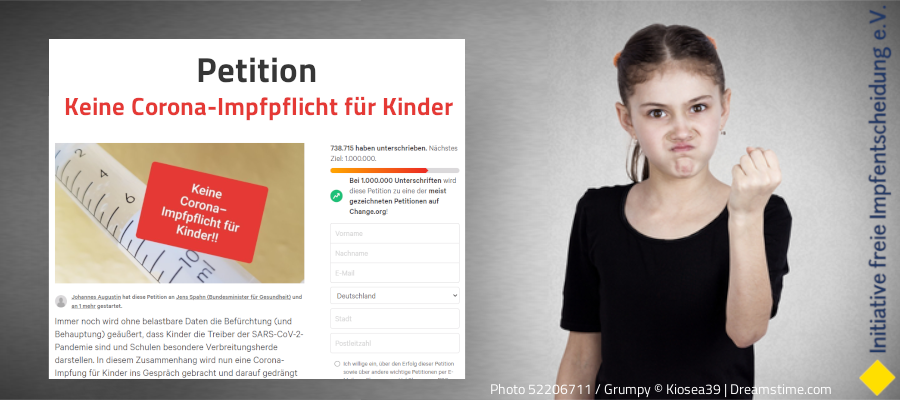 Petition gegen KinderimpfPFLICHT